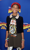 Willow Smith at the NY premiere of Madagascar 3: Europe's Most Wanted at the Ziegfeld Theatre in New York City. June 7, 2012. © RW/MediaPunch Inc.