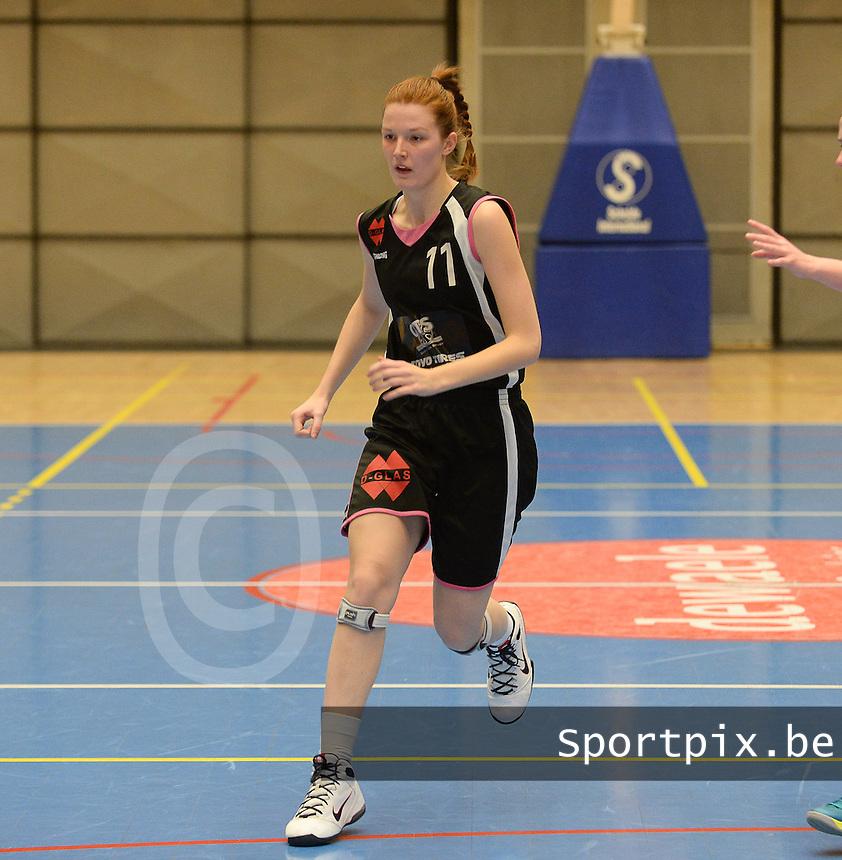 KB Oostende Bredene Dames : Naomi Surgeloose <br /> foto VDB / Bart Vandenbroucke