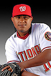 25 February 2007: Washington Nationals infielder Ronnie Belliard poses for his Photo Day portrait at Space Coast Stadium in Viera, Florida.<br /> <br /> Mandatory Photo Credit: Ed Wolfstein Photo<br /> <br /> Note: This image is available in a RAW (NEF) File Format - contact Photographer.