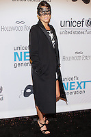 HOLLYWOOD, LOS ANGELES, CA, USA - OCTOBER 30: Nikki Reed arrives at UNICEF's Next Generation's 2nd Annual UNICEF Masquerade Ball held at the Masonic Lodge at the Hollywood Forever Cemetery on October 30, 2014 in Hollywood, Los Angeles, California, United States. (Photo by Rudy Torres/Celebrity Monitor)