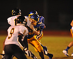 Oxford High's Kirk Laughter (52) vs. Charleston in Oxford, Miss. on Friday, August 24, 2012. Oxford won 21-18 to improve to 2-0.