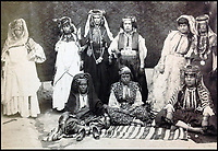 BNPS.co.uk (01202 558833)<br /> Pic: JeschkevanVliet/BNPS<br /> <br /> A stunning collection of photographs of North Africa from the late 19th century have been unearthed after more than 125 years.<br /> <br /> The images of Algeria, Morocco and the Sahara desert provide a fascinating insight into the lives of the native population at that time.<br /> <br /> There are views of north African cities, villages and landscapes as well as portraits of local people in traditional costume and scantily dressed women. <br /> <br /> The hefty album, which weighs more than two stone, contains 149 A4 size images and has emerged for auction. It is tipped to sell for &pound;4,800 (5,500 euros).