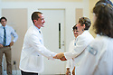 Ryan Nichols, left, Christa Zehle, M.D. Class of 2017 White Coat Ceremony.