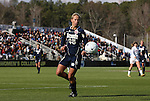 05 December 2010: Notre Dame's Julie Scheidler. The Notre Dame University Fighting Irish defeated the Stanford University Cardinal 1-0 at WakeMed Stadium in Cary, North Carolina in the 2010 NCAA Women's College Cup Championship Game.