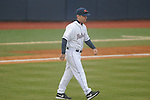 Ole Miss coach Mike Bianco vs. Rhode Island at Oxford-University Stadium in Oxford, Miss. on Friday, February 22, 2013. Ole Miss won 8-1 to improve to 5-0.