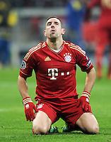 FUSSBALL   CHAMPIONS LEAGUE   SAISON 2011/2012     22.11.2011 FC Bayern Muenchen - FC Villarreal Franck Ribery (FC Bayern Muenchen)