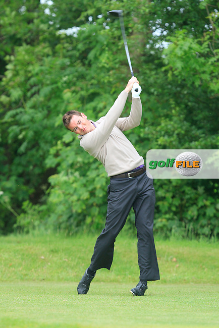 Stephen Healy (Claremorris) on the 6th tee during Round 5 of the Irish Amateur Close Championship at Seapoint Golf Club on Tuesday 10th June 2014.<br /> Picture:  Thos Caffrey / www.golffile.ie