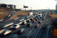 City of Austin Traffic during afternoon rush hour