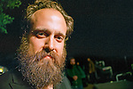 Iron and Wine performing at Old Settlers' Music Festival, Driftwood Texas, April 21, 2012. Samuel Beam (born July 26, 1974), better known by his stage and recording name Iron & Wine, is an American singer-songwriter.
