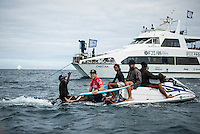Namotu Island Resort, Nadi, Fiji (Monday, June 6 2016): Mick Fanning (AUS)  -The Fiji Pro, stop No. 5 of 11 on the 2016  WSL Championship Tour, witnessed heated head-to-head match-ups as the world's best surfers fought through elimination Round 2 in four-to-six foot (1 - 2 metre) waves at Cloudbreak. Round Two was completed with the new longer period swell from the West slowly dropping during the day. Photo: joliphotos.com