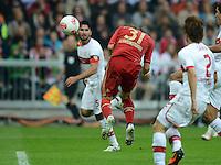 FUSSBALL   1. BUNDESLIGA  SAISON 2012/2013   2. Spieltag FC Bayern Muenchen - VfB Stuttgart      02.09.2012 Tor zum 6:1 durch Bastian Schweinsteiger (FC Bayern Muenchen)