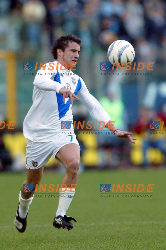 Roma 11/1/2004 <br /> Lazio Brescia 0-1 <br /> Matteo Brighi (Brescia)<br /> Photo Andrea Staccioli Insidefoto