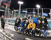 Members of past Babson championship teams - The Norwich University Cadets defeated the Babson College Beavers 1-0 on Thursday, January 9, 2014, at Fenway Park in Boston, Massachusetts.