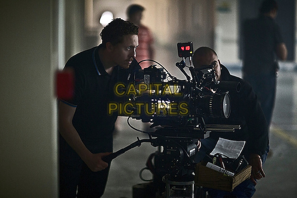 Caradog W. James (Director)<br /> on the set of The Machine (2013) <br /> *Filmstill - Editorial Use Only*<br /> CAP/FB<br /> Image supplied by Capital Pictures