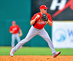 7 March 2012: St. Louis Cardinals infielder Ryan Jackson warms up prior to a game against the Washington Nationals at Space Coast Stadium in Viera, Florida. The teams battled to a 3-3 tie in Grapefruit League Spring Training action. Mandatory Credit: Ed Wolfstein Photo