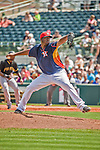 22 March 2015: Houston Astros pitcher Roberto Hernandez on the mound during a Spring Training game against the Pittsburgh Pirates at Osceola County Stadium in Kissimmee, Florida. The Astros defeated the Pirates 14-2 in Grapefruit League play. Mandatory Credit: Ed Wolfstein Photo *** RAW (NEF) Image File Available ***
