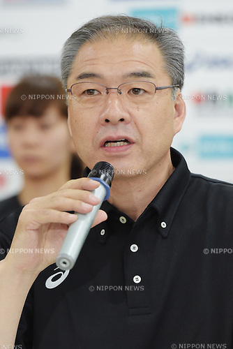 Tomohide Utsumi (JPN),<br /> June 10, 2015 - Basketball : <br /> Japan women's national team training session for 2015 FIBA Asia Championship for Women<br /> at Ajinomoto National Training Center, Tokyo, Japan. <br /> (Photo by Shingo Ito/AFLO SPORT)