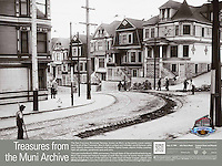 Old Streetcar Track Curve at Frederick St & Masonic Ave | September 27, 1904