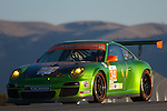 #34 Green Hornet/ Black Swan Racing Porsche 911 GT3 Cup: Peter LeSaffre, Damien Faulkner