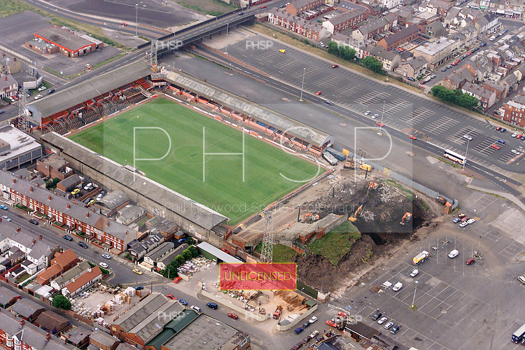Blackpool FC Ground demolition