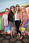 Lauren Wood and Model Dani Seitz Attend Sunglass Hut Electric Summer Campaign Kick-Off Held at Industry Kitchen