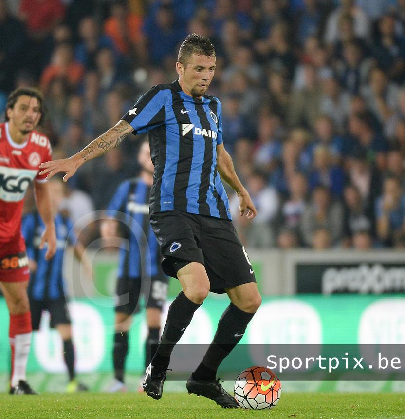 Club Brugge - KV Kortrijk : Claudemir <br /> Foto VDB / Bart Vandenbroucke