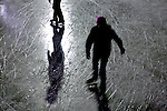 .On Friday January 18, 2012 an ice skating event called Groove & Glide was held at Tenney Park in Madison, Wisconsin.