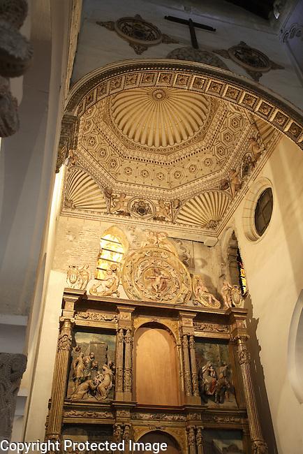 Synagogue - Santa Maria La Blanca; Toledo; Spain