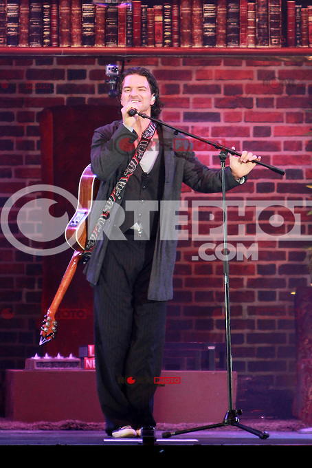 Ricardo Arjona in concert at the American Airlines Arena in Miami, Florida. March 9, 2012.<br />