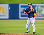 1 March 2017: Houston Astros infielder Marwin Gonzalez in Spring Training action against the Miami Marlins at the Ballpark of the Palm Beaches in West Palm Beach, Florida. The Marlins defeated the Astros 9-5 in Grapefruit League play. Mandatory Credit: Ed Wolfstein Photo *** RAW (NEF) Image File Available ***