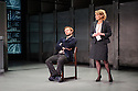 Hampstead Theatre presents HAPGOOD, by Tom Stoppard, directed by Howard Davies. Picture shows: Nick Blakeley (Maggs), Lisa Dillon (Hapgood)
