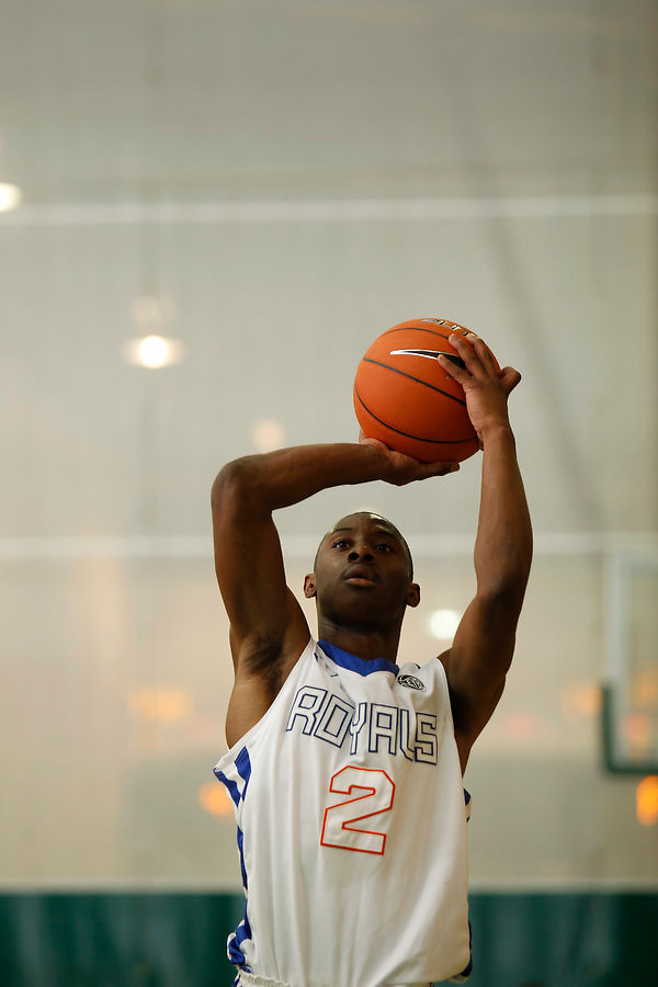 April 8, 2011 - Hampton, VA. USA; Jaquel Richmond participates in the 2011 Elite Youth Basketball League at the Boo Williams Sports Complex. Photo/Andrew Shurtleff