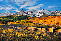 Autumn on the Divide