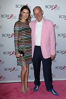 """Lizzie Tisch and Jonathan Tisch attend The Breast Cancer Research Foundation """"Super Nova"""" Hot Pink Party on May 12, 2017 at the Park Avenue Armory in New York City."""