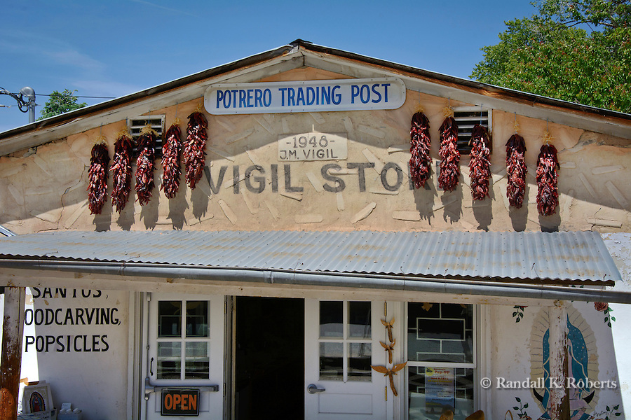 Portrero Trading Post, next to Santuario de Chimayo, New Mexico