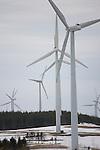 Wind Power Farms in Ontario, Canada.