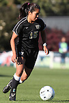 07 November 2010: Wake Forest's Marisa Park. The Wake Forest University Demon Deacons defeated the University of Maryland Terrapins 3-1 on penalty kicks after the game ended in a 1-1 tie after overtime at WakeMed Stadium in Cary, North Carolina in the ACC Women's Soccer Tournament championship game.