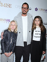 NEW YORK, NY April .18, 2017 Toni Cornell, Chris Cornell, Lilian Jean Cornell attend Survival Pictures and Open Road in partnership with Ambassador Zohrab Mnatsakanyan, Permanent Representative of Armenia to the United Nations host a special screening of The Promise  at the Paris Theatre in New York April 19,  2017. <br /> CAP/MPI/RW<br /> &copy;RW/MPI/Capital Pictures