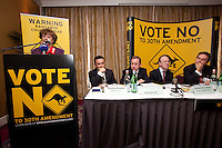 NO REPRO FEE. VOTE NO TO THE 30TH AMENDMENT.  Catherine Murphy TD is pictured at the Official launch of the 'NO' Campaign at the The Westbury Hotel, Dubliin. Picture James Horan/Collins.