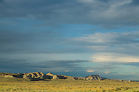 Sagebrush Steppe and badlands in the Bighorn Basin of Wyoming