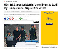 Mirror 08Nov2016<br /> British banker Rurik Jutting found guilty of murdering two Indonesian women in Hong Kong on 8th Nov, 2016