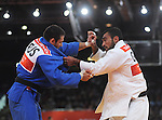 Olympic Games 2012; Judo - ExCel North Arena 2; Men's 90kg. Quarterfinal: Ilias Iliadis (GRE) Kirill Denisov (RUS).