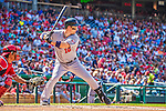 8 June 2013: Minnesota Twins outfielder Josh Willingham in action against the Washington Nationals at Nationals Park in Washington, DC. The Twins edged out the Nationals 4-3 in 11 innings. Mandatory Credit: Ed Wolfstein Photo *** RAW (NEF) Image File Available ***