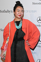 """HOLLYWOOD, LOS ANGELES, CA, USA - FEBRUARY 26: Amy Wong at The Art Of Elysium's 7th Annual """"Pieces Of Heaven"""" Charity Art Auction held at Siren Studios on February 26, 2014 in Hollywood, Los Angeles, California, United States. (Photo by David Acosta/Celebrity Monitor)"""