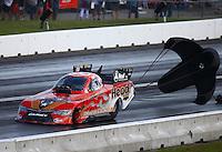 Jun 4, 2016; Epping , NH, USA; NHRA funny car driver Chad Head during qualifying for the New England Nationals at New England Dragway. Mandatory Credit: Mark J. Rebilas-USA TODAY Sports