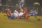 Lafayette High's J.D. Driver (23) vs. North Pontotoc in high school football in Pontotoc, Miss. on Thursday, October 24, 2012. Lafayette High won 38-0.
