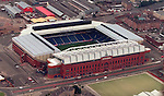 Ibrox Stadium from the air in 1998