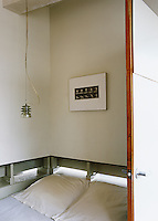 """This """"box"""" bedroom ensures complete privacy and the waist-high slits provide ventilation at night"""