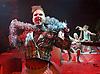 Islands <br /> by Caroline Horton <br /> directed by Omar Elerian<br /> designed by Oliver Townsend <br /> at the Bush Theatre, London, Great Britain <br /> 16th January 2015 <br /> <br /> Caroline Horton <br /> <br /> Seiriol Davies -at front <br /> <br /> John Biddle <br /> <br /> Hannah Ringham <br /> <br /> <br /> <br /> Photograph by Elliott Franks <br /> Image licensed to Elliott Franks Photography Services