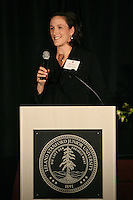 STANFORD, CA - NOVEMBER 14:  Kristin Folkl (Kristin Kaburakis) during the Stanford Hall of Fame Induction Ceremony on November 14, 2008 at the Schwab Residential Center in Stanford, California.